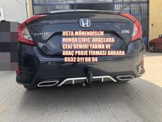 HONDA CIVIC çeki demiri taktırma ve araç projesi Ankara